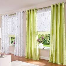 green curtain for living room design ideas modern house pictures