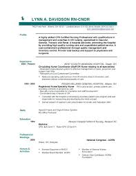 Nurse Resume Example Templates Awesome Websites Samples For Nurses With No Experience