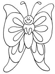 Coloring Pages Of Flowers Flower Garden Butterfly
