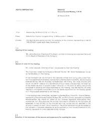 Board Meeting Minutes Template Best Free Templates Hoa Annual Sample For Word