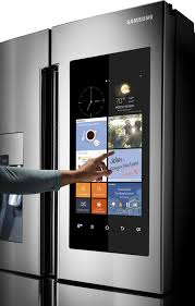 Samsung Counter Depth Refrigerator by Rf22k9581sr Samsung 22 Cu Ft Counter Depth Family Hub
