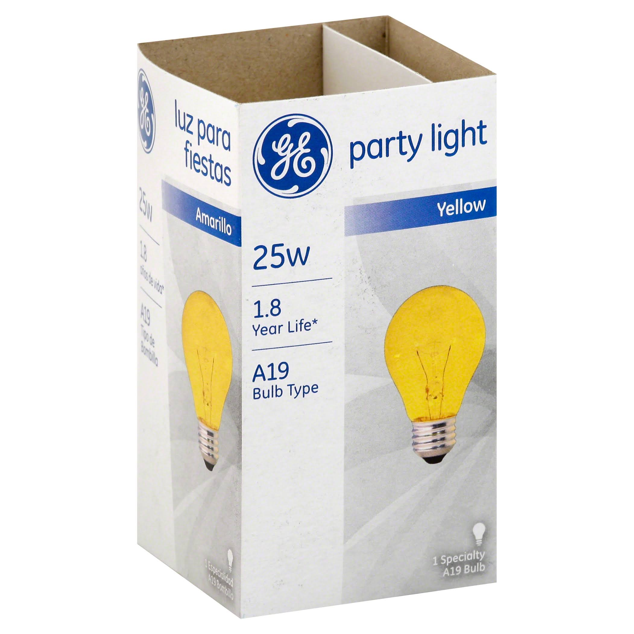 GE Lighting Yellow Light Bulb - 25W
