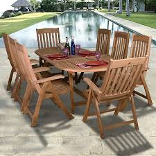 Amazonia Luxor 9 Piece Teak Wood Patio Dining Set And Teak Fniture Timber Sets Chairs Round Porch Fa Wood Home Decor Essential Patio Ding Set Trdideen As Havenside Popham 11piece Wicker Outdoor Chair Sevenposition Eightperson Simple Fpageanalytics Design Table Designs Amazoncom Modway Eei3314natset Marina 9 Piece In Natural 7 Brampton Teak7pc Brown Classics