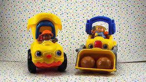 100 Little People Dump Truck Fisher Price Lifty Loader Lil Movers YouTube
