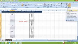 Excel Magic Trick 1 Copy Cell Value And Paste Down The Cells