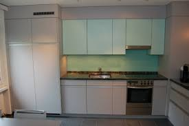 2 farbige küche mit alugriffen funk innenausbau ag