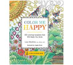 Color Me Happy Adult Coloring Book