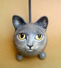 kitty cat the painted kitty cat urn