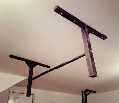 Trx Ceiling Mount Weight Limit by Studbar Wall Or Ceiling Mounted Pull Up Bar Review Refugym
