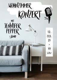 wohnzimmerkonzert mit pepper mädelsabend home