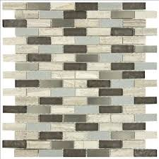 Splashback Tile Oriental Squares 12 In X 8 Mm Marble Floor And Wall