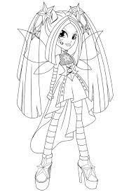 Equestria Girls Coloring Pages My Little Pony Beautiful