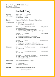 Resume Template Teenager First Examples For Teens Example Teenage Job