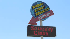 100 Iowa 80 Truck Wash Worlds Largest Truck Stop Is An Oasis On I In