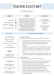 Teacher Assistant Resume Sample & Writing Tips | Resume Genius Free Resume Templates For 2019 Download Now Pin By Nadine Richards On Jobs Job Resume Examples Examples For Professionals Best Formatced Marketing How To Pick The Format In Listed Type And 200 Professional Samples Housekeeping Sample Monstercom 27 Common Mistakes That Can Lose You Things 20 Executive Cxo Vp Director Resumeple Fresh Graduate Doc Curriculum Vitae Mechanical
