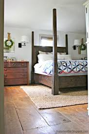 Ana White Farmhouse Headboard by Ana White Dawsen Canopy Or Poster Bed Queen Diy Projects