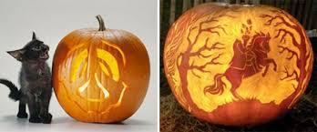 Free Headless Horseman Pumpkin Template by Free Pumpkin Carving Templates Wolf Pumpkin Carving Template