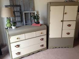 Waterfall Vanity Dresser Set by Art Deco Waterfall Dresser Wardrobe J Vintage Home Decorvintage