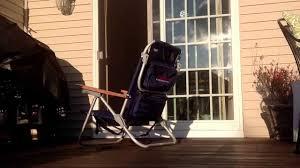 Tommy Bahama Beach Chair Backpack Australia by How To Fold A Tommy Bahama Beach Chair Youtube