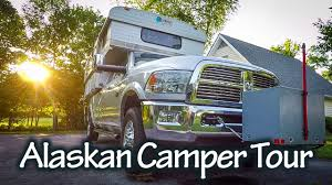 100 Alaskan Truck Camper Tour YouTube