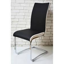 étonnant chaise noir et blanc pas cher décoration française