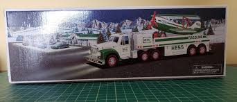 2002 HESS TOY Truck And Airplane Collectible NIB Never Used Or ...