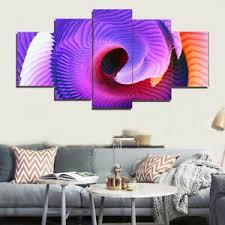 details zu 5 moderne wandbilder kunstdruck wohnzimmer schlaftzimmer deko abstrakt