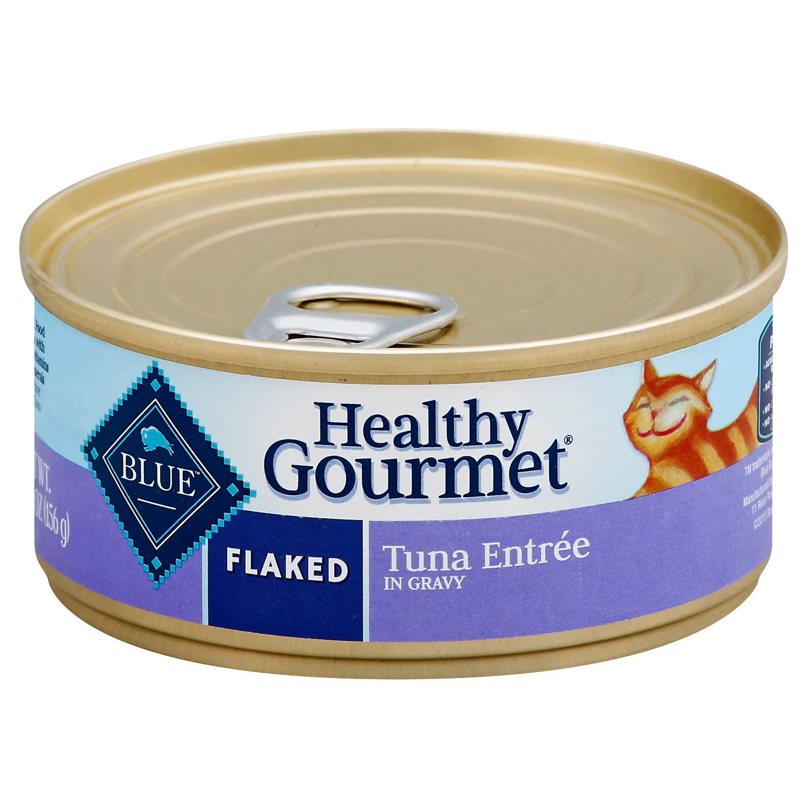 Blue Buffalo Healthy Gourmet Cat Food - Flaked, Tuna Entree