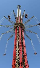 Best Halloween Attractions New England by New England Skyscreamer Backwards Six Flags New England