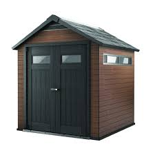 Rubbermaid 7x7 Shed Big Max by Keter Fusion 7 5 Ft X 7 Ft Wood And Plastic Composite Shed