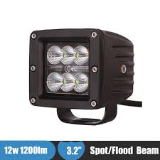 12W LED Offroad Work Light Truck Tractor Car Fog Light Auxiliary ... Best Led Spotlights For Trucks Amazoncom Truck Lite Led Spot Light With Ingrated Mount 81711 Trucklite Rigid Industries D2 Pro Flush Mount Lights 1513 Senzeal 5d 90w 9000lm Cree Chip Flood Beam Offroad Work Great Whites Lights 4wds Cars 2x 4inch 1800lm 18wcree Led Bar Spotflood Lamp Green Hunting Fishing 10 Inch High Power For Vehicles 18w Cree Pod Fog Jeep Off Trucklitesignalstat 4x6 In 1 Bulb 1450 Lumen Black Rectangular 4 Inch 27w Round Amber Ligh 1030v Rund 35w Driving 3 Road Bars Trucks Offroad Sale