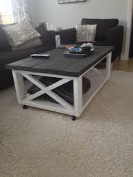 Full Size Of Coffee Tableawesome Diy Table White And Wood Farmhouse Balustrade Large