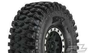 100 Truck Tired ProLine 1012813 Hyrax 19 G8 Tires Mounted On Impulse Black