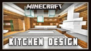 minecraft how to make a kitchen design modern house build ep 20
