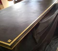 bureau en cuir cuir de bureau restauration cuir de bureau empire et contemporain