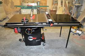 review sawstop 3hp 10 inch cabinet saw with 36 t glide fence