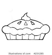 royalty free rf pumpkin pie pie clipart black and white 400 420