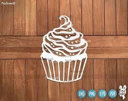 Cupcake SVG Cupcake Svg Cutting Files Svg Bundle Cupcakes Svg Cupcake Svg file Cupcake clipart Silhouette Svg Cricut Svg Svg