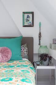 vintage deko in türkis und grau im bild kaufen