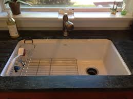 Kohler Whitehaven Sink Scratches by Talk Me Into A Stainless Steel Or Cast Iron Sink