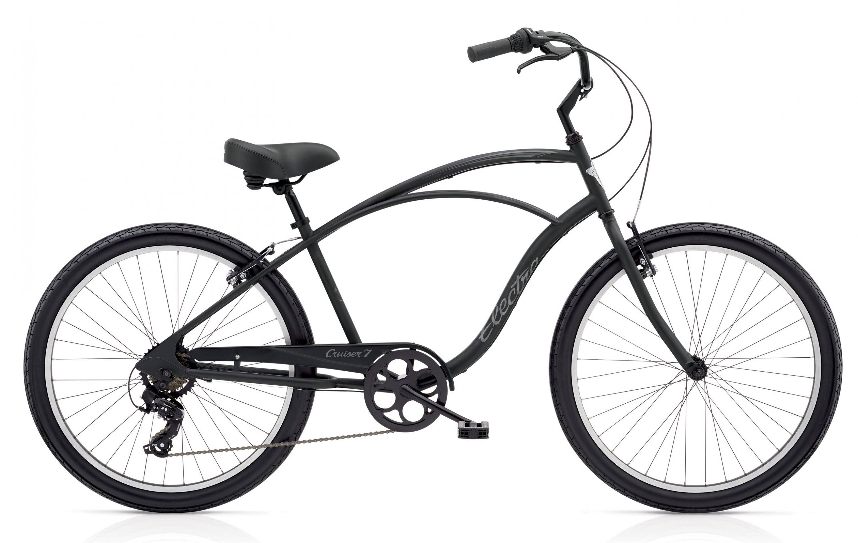 Electra Cruiser 7D Mens Tall Matte_black