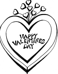 Valentine Coloring Page Heart