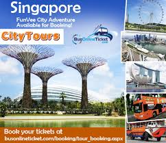 Singapore City Tour Package Now Available In BusOnlineTicket