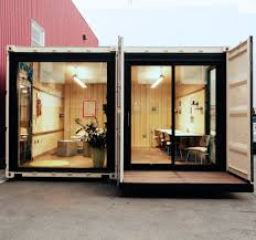 100 Shipping Containers San Francisco SF Startup Is Turning Vacant Lots Into Office Spaces With