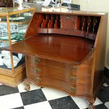 Ethan Allen Roll Top Desk by Furniture Appealing Wood Secretary Desks With Storage And Shelves