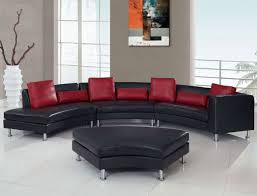 red living room set ideas white leather sectional sofa cushion