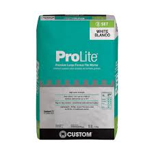Tile Adhesive Mat Vs Thinset by Custom Building Products Flexbond White 50 Lb Prevention