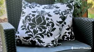 Stenciling Accent Pillows For An Outdoor Reading Nook Stencil