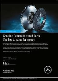 Reman Parts - Clutch - Mercedes-Benz Parts Offers | Mercedes-Benz ...