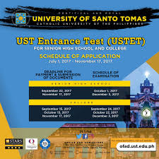 UST Admissions On Twitter